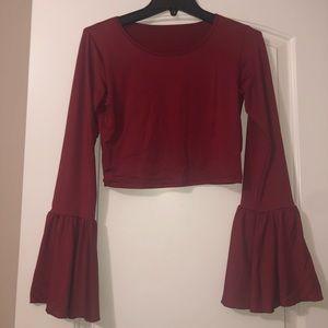 Long sleeve boutique shirt